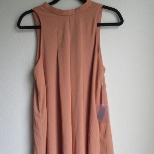 New Flowy peach dress